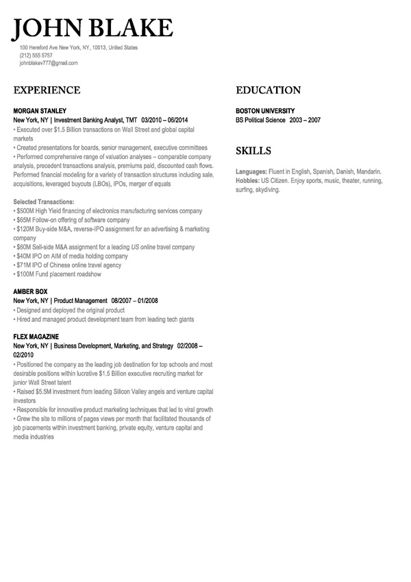 Post my resume