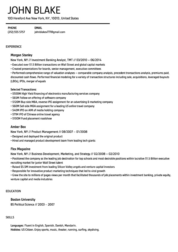Elegant Resume Builder Throughout Resume Builder