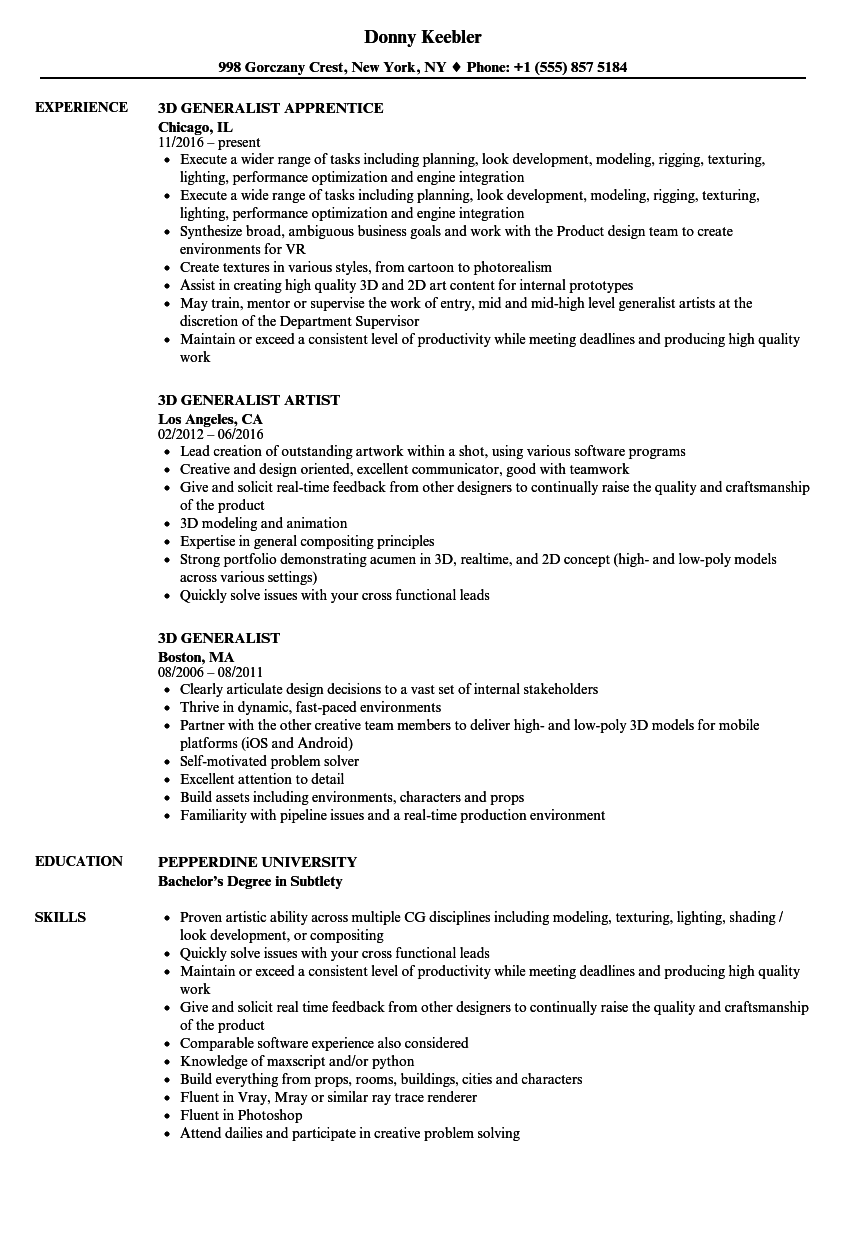 Related Job Titles. Painter Resume Sample