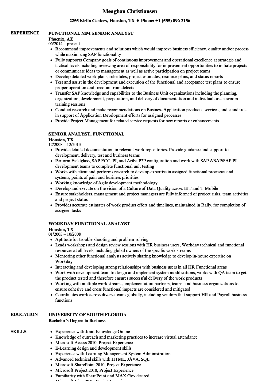 Velvet Jobs  Funtional Resume