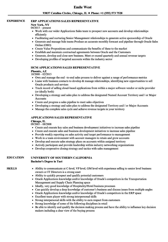 Technical Sales Representative Sample Resume associate designer ...