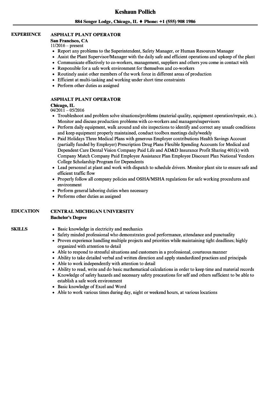 Resume Sample For Telephone Operator