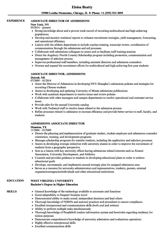 Resume For College Entrance Sample