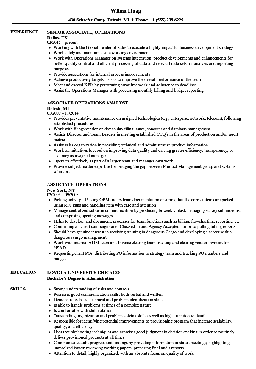 fixed income operations analyst description create