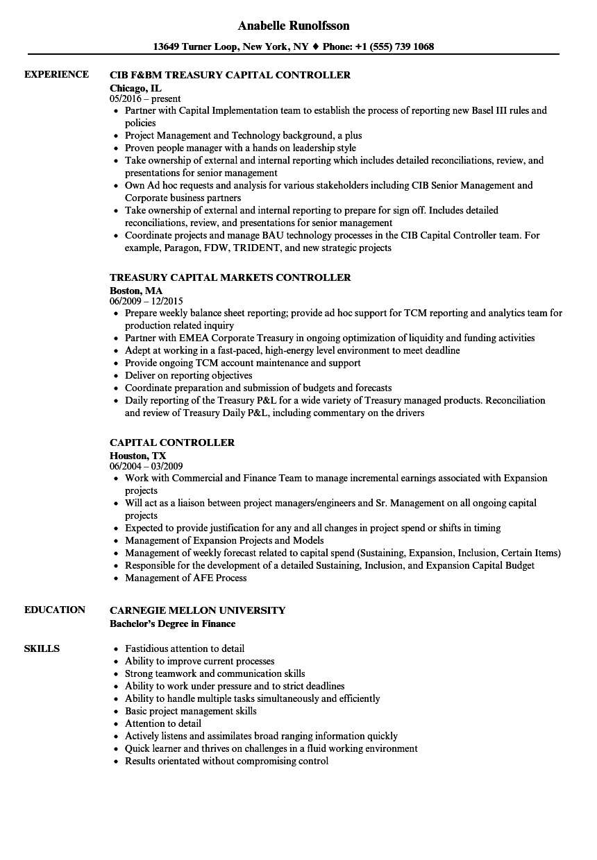 pretty controller resume example images gallery inventory