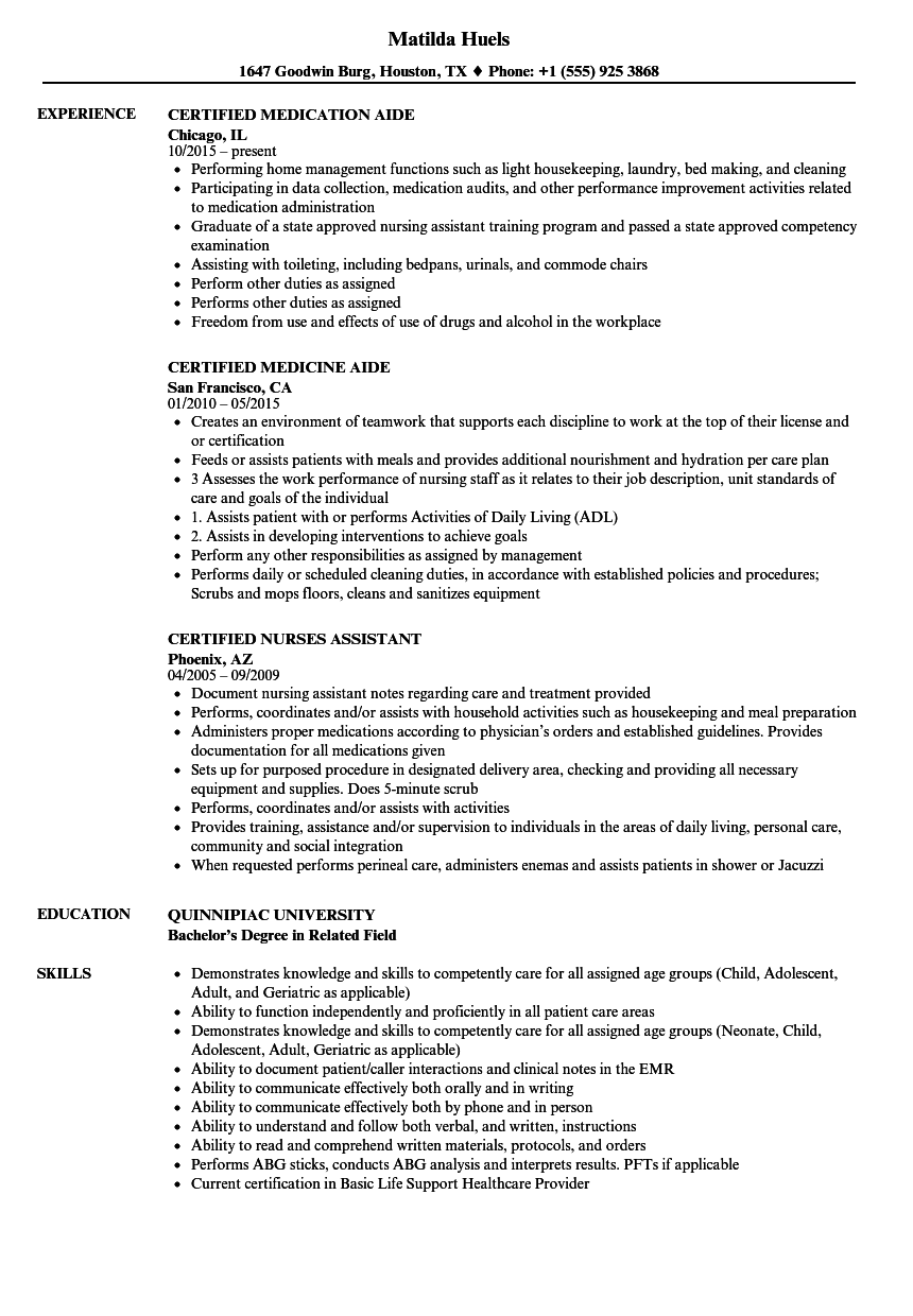 Velvet Jobs  Where To Put Certifications On Resume