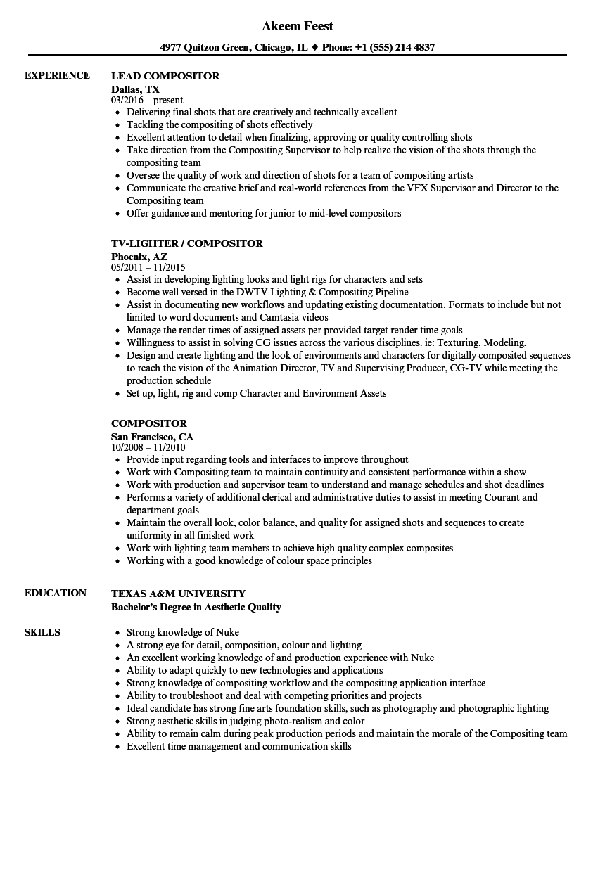 Magnificent Vfx Compositor Resume Pattern  Example Resume. Cover Letter Examples Veterinarian. Resume Objective Examples For Retail. Resume Cover Letter Upload. Cover Letter To Human Resources Manager. Application For Employment Retail. Cover Letter Format Seek. Curriculum Vitae Modello Predefinito. Amazing Resume Creator Free Download
