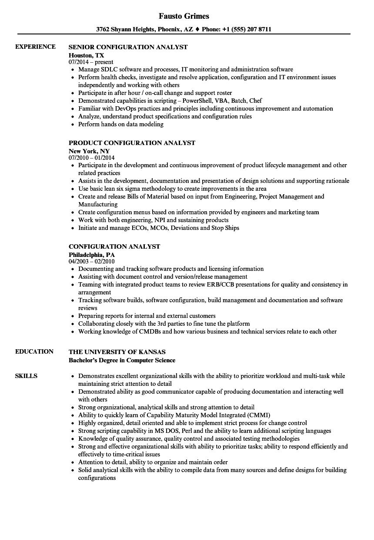 Configuration analyst resume samples velvet jobs download configuration analyst resume sample as image file 1betcityfo Gallery