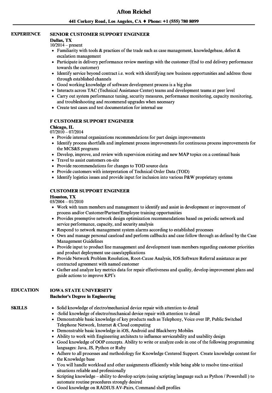 Amazing Noc Support Engineer Resume Gallery Professional Resume