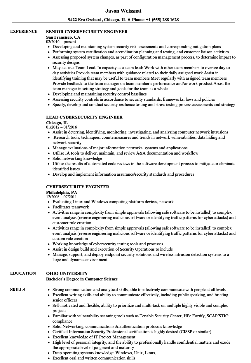 Download cybersecurity engineer resume sample as image file cyber download cybersecurity engineer resume sample as image file thecheapjerseys Image collections