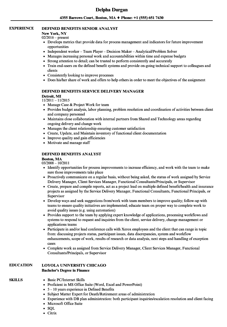 related job titles benefits manager resume sample - Census Worker Sample Resume
