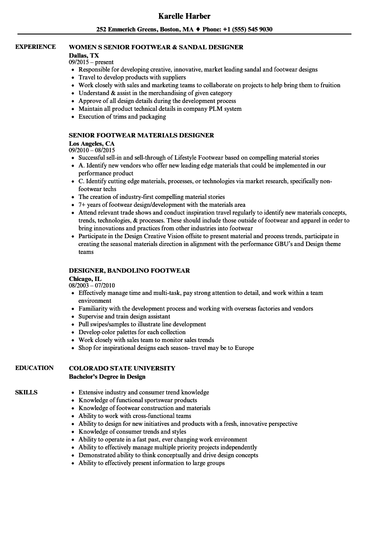 sample resume designs