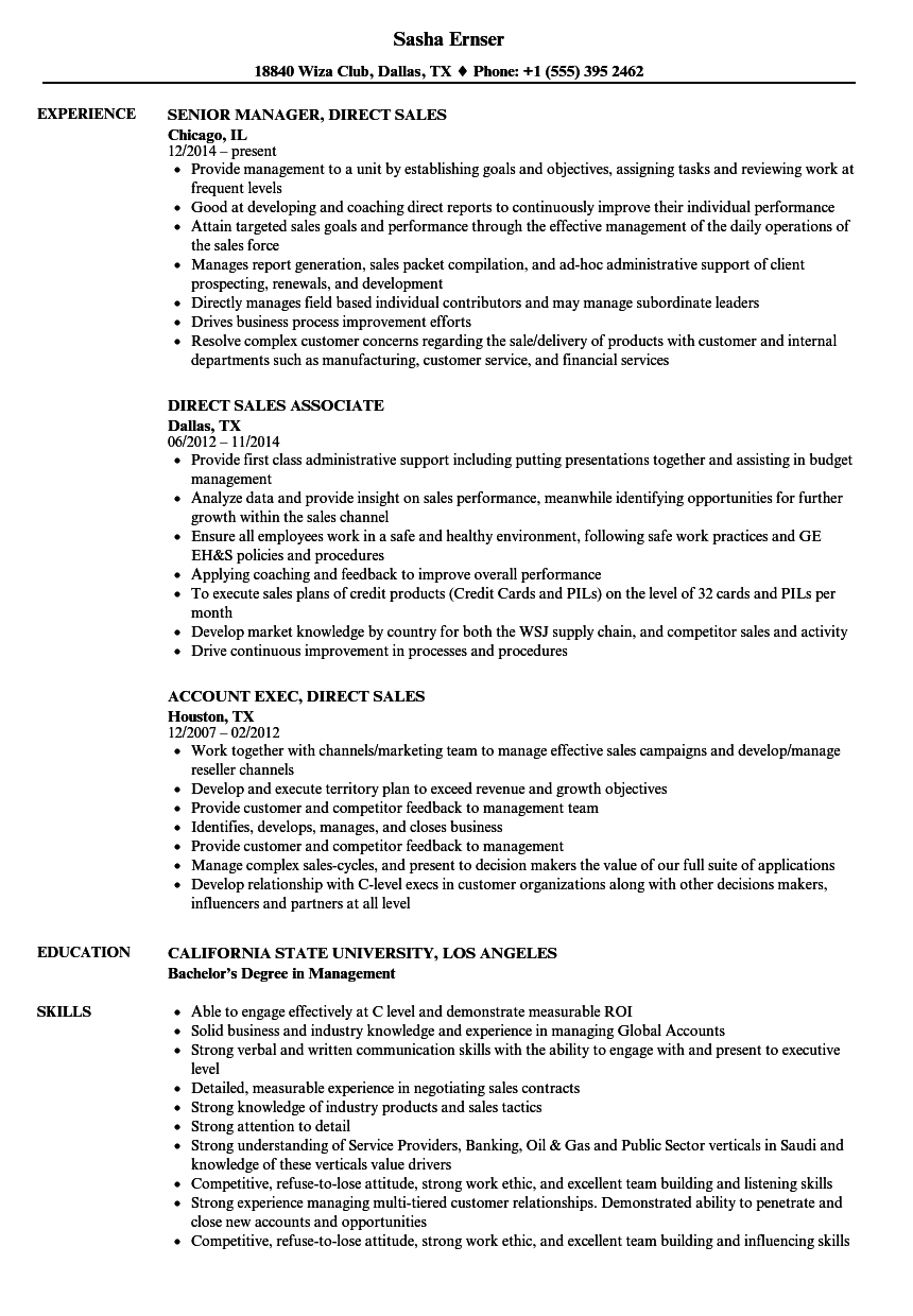 Great Velvet Jobs And Direct Sales Resume