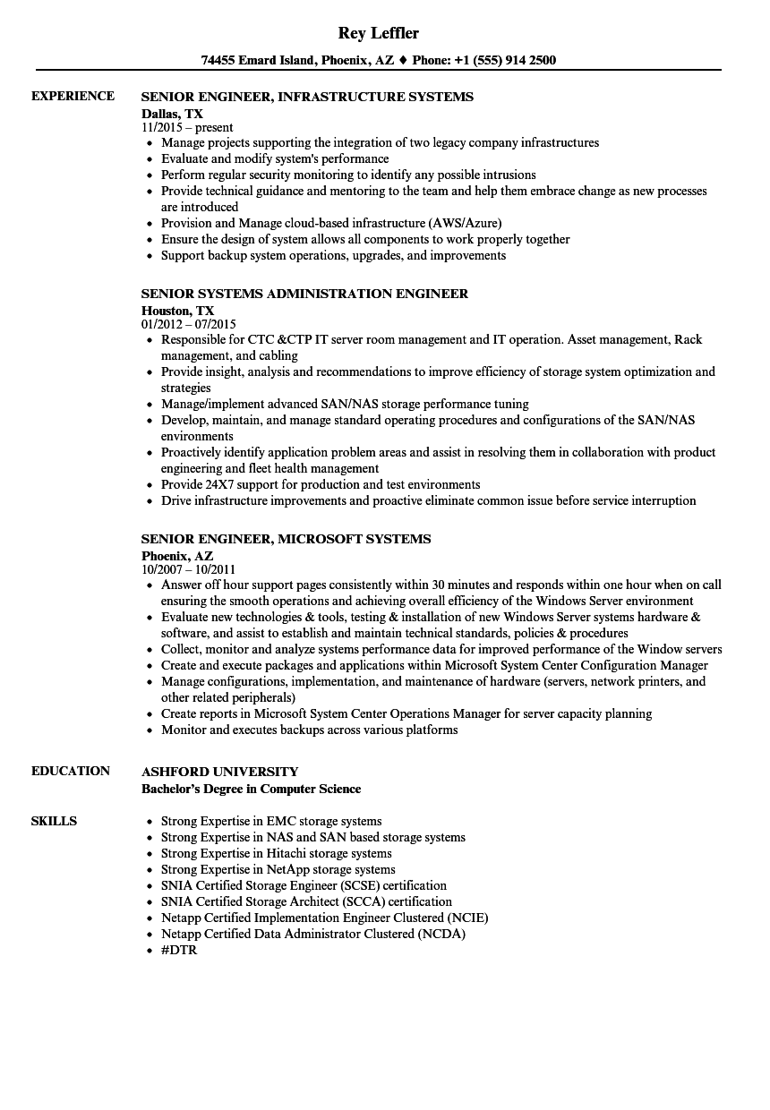 Network implementation engineer sample resume