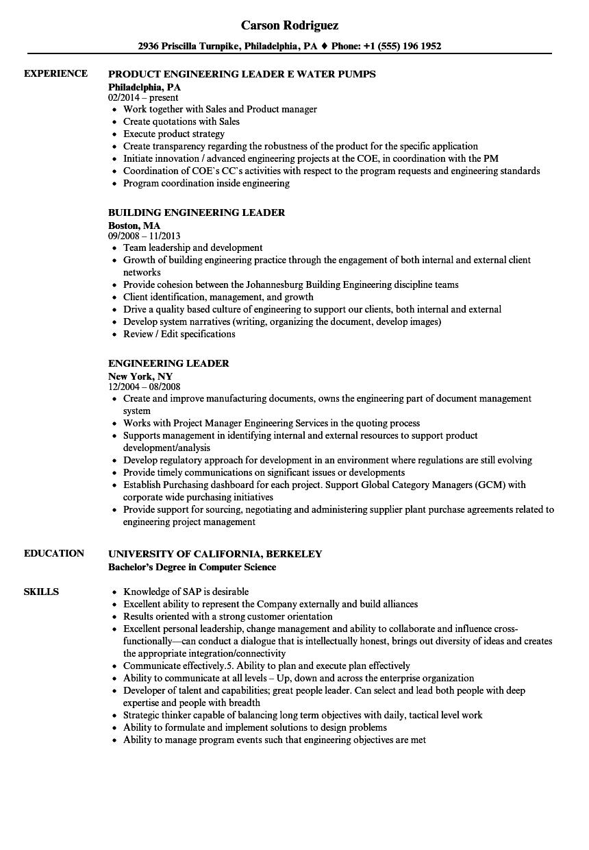 engineering leader resume sample - Download mba resume samples for experienced engineers club of philadelphia
