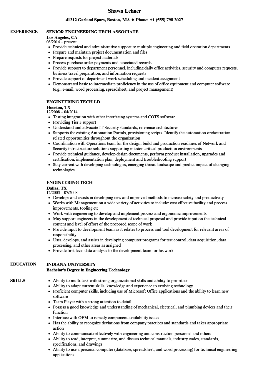 Beautiful Whelen Engineering Resume Photos - Administrative Officer ...