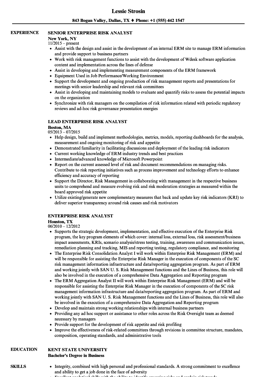 Resume Samples Analyst Resumesrisk Analyst   Ghanaphotos.us   High Quality  Resume Template