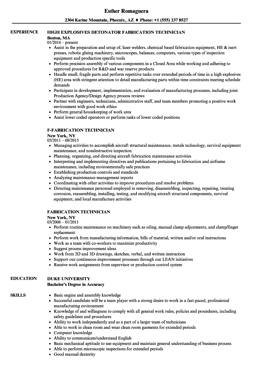 Lithography Engineer Resume