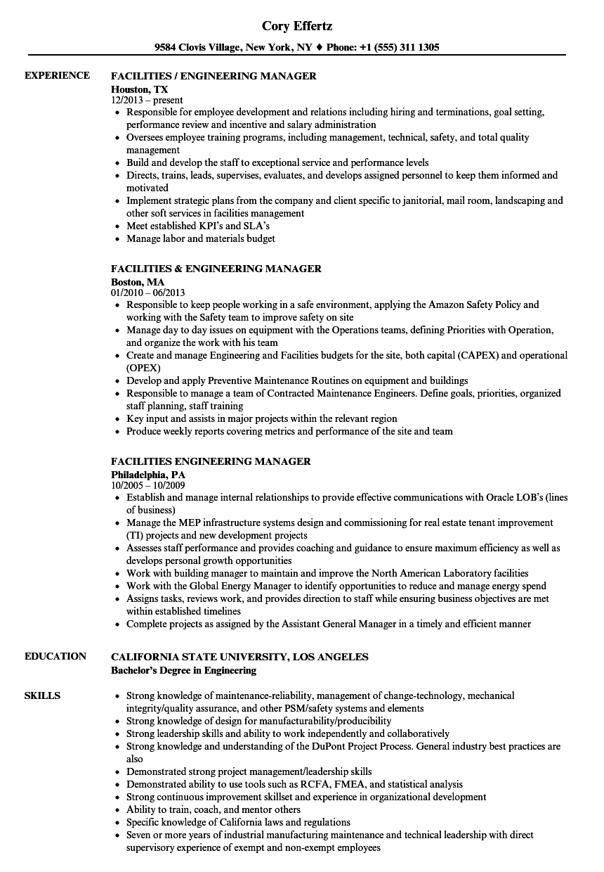 Regional Safety Manager Resume
