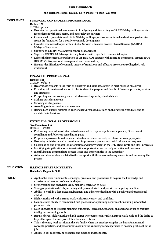 Generous Professional Resume Dallas Tx Ideas Entry Level Resume