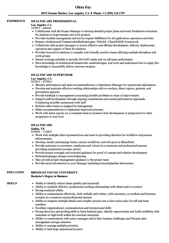 Healthcare resume samples velvet jobs download healthcare resume sample as image file 1betcityfo Gallery