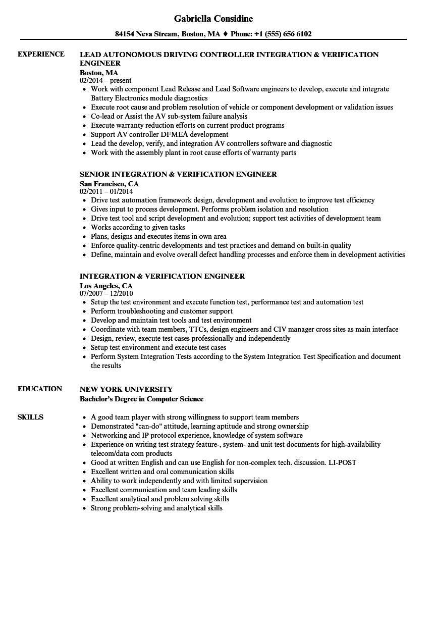 process validation engineer cover letter - 28 images - free ...