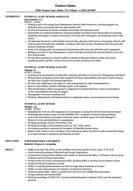 auditor resume examples - solarfm.tk