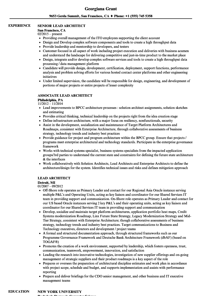Txt Descargar Chief Architect Resume