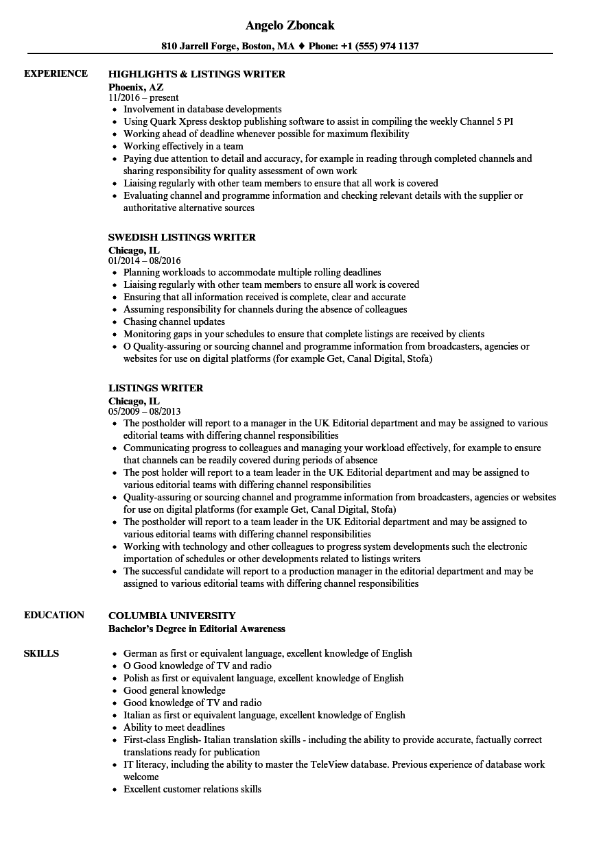 resume listings elita aisushi co