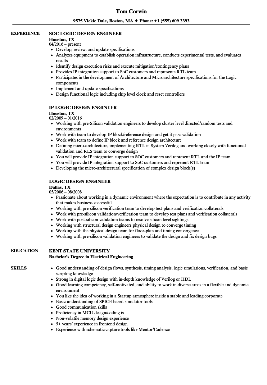 Board Design Engineer Resume Samples  Velvet Jobs