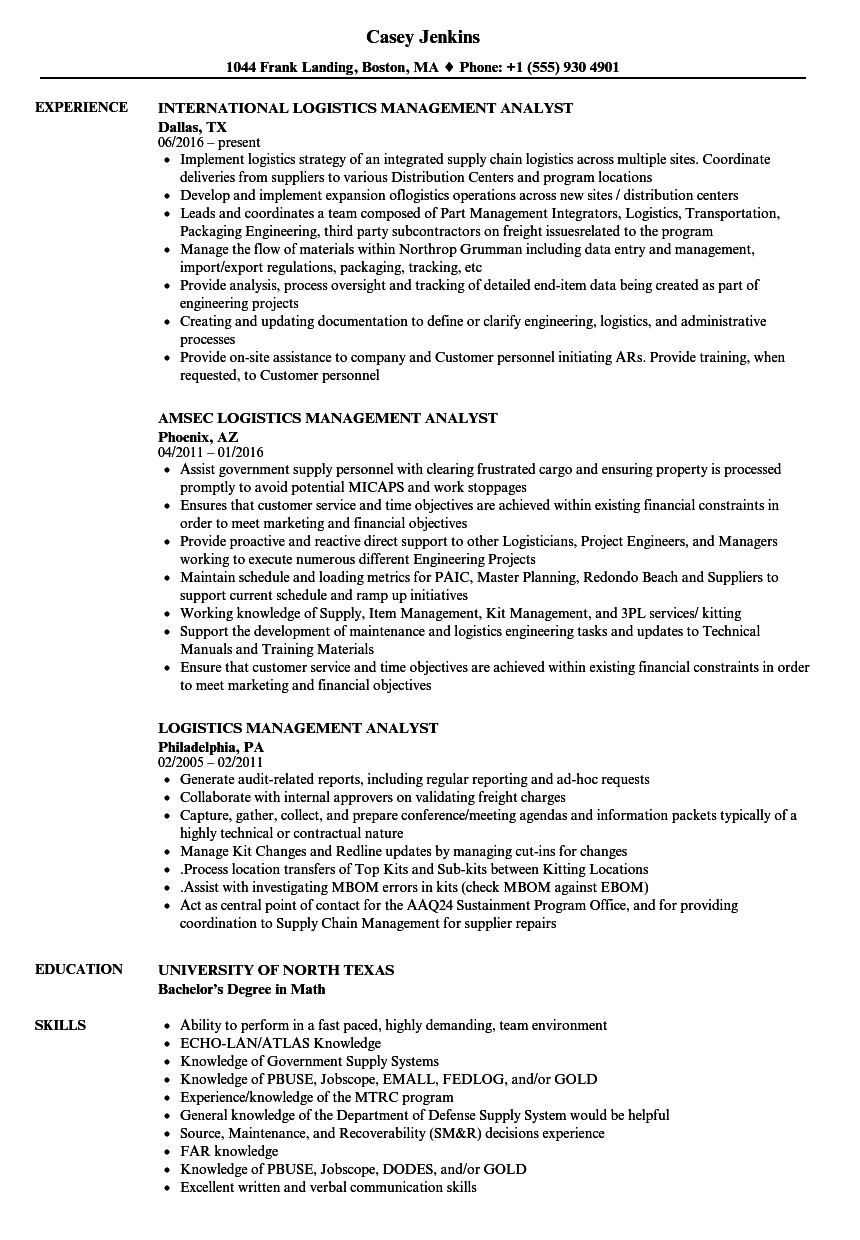 Division order analyst resume
