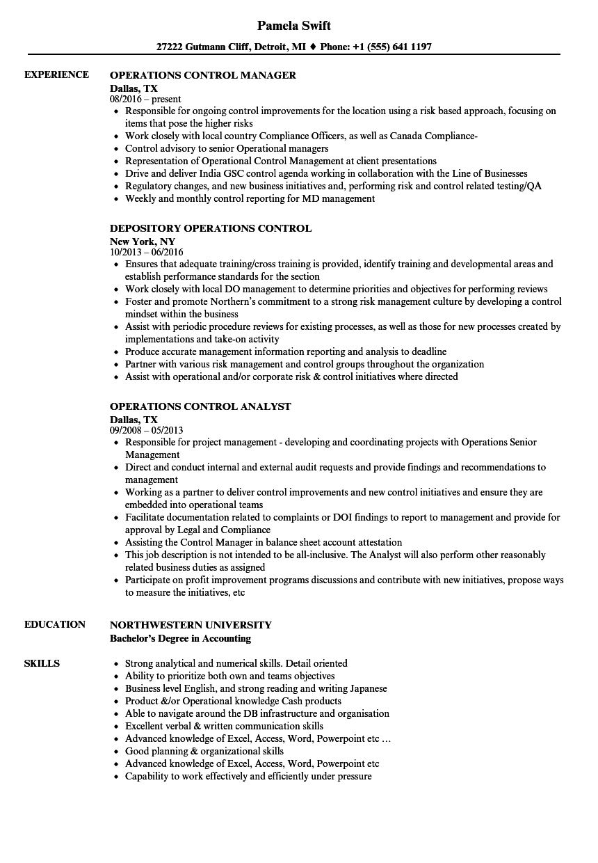 organisational skills resume skills for a resume examples write  operations control resume samples velvet jobs