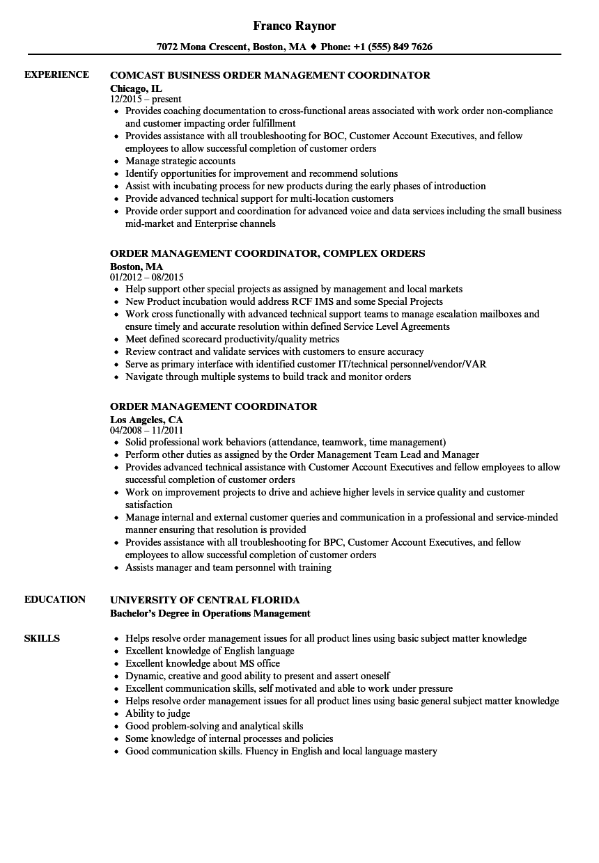 Order resume online 4s