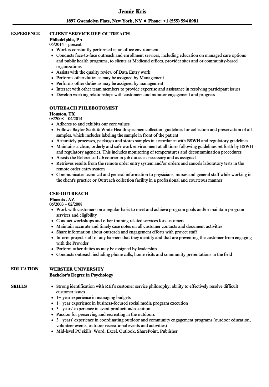 Outreach resume samples velvet jobs download outreach resume sample as image file 1betcityfo Gallery