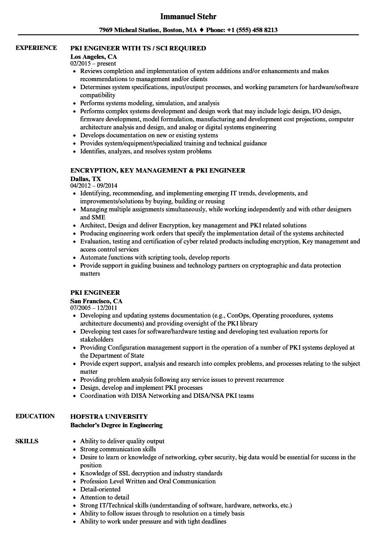 Pki engineer resume samples velvet jobs download pki engineer resume sample as image file xflitez Gallery