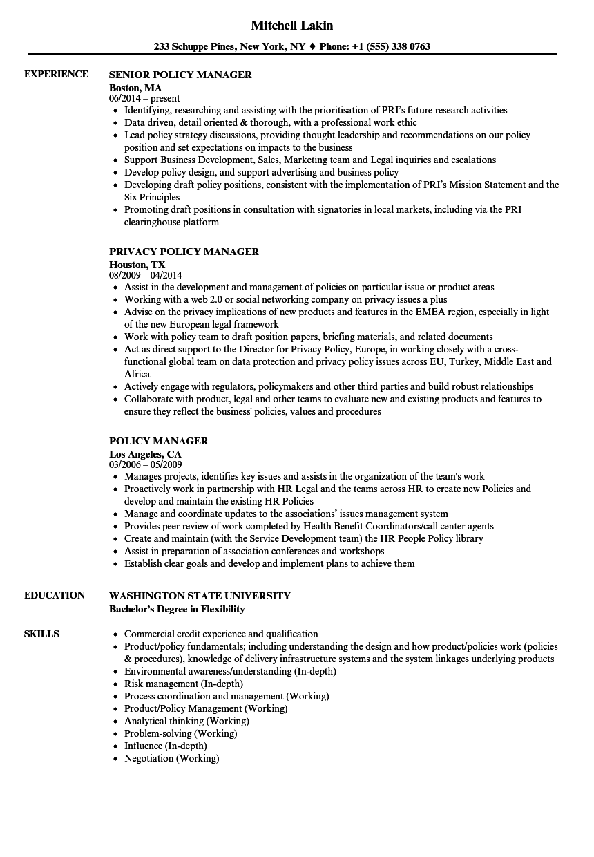 Policy manager resume samples velvet jobs download policy manager resume sample as image file yelopaper Image collections