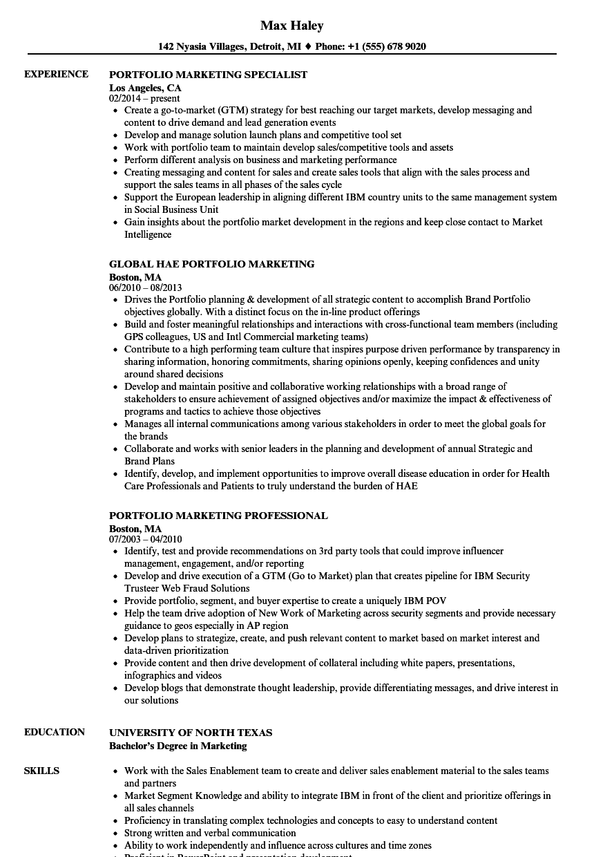 related job titles marketing data analyst resume sample - Marketing Professional Resume