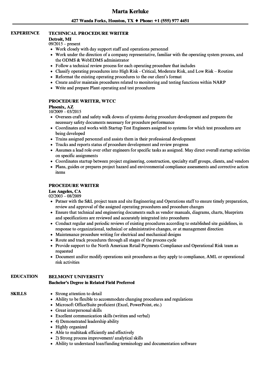 download procedure writer resume sample as image file writer resume sample - Freelance Writer Resume Sample