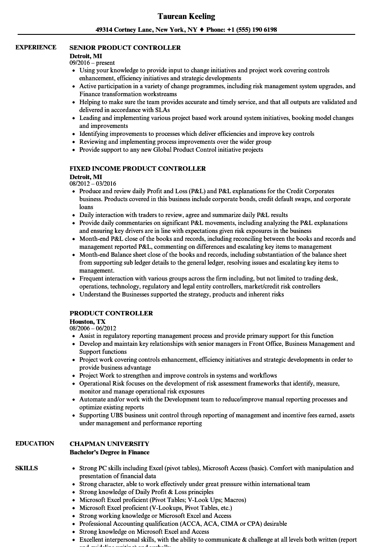 100 assistant controller resume template premium