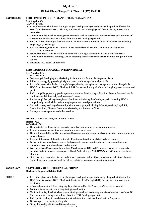 international resume - Kardas.klmphotography.co