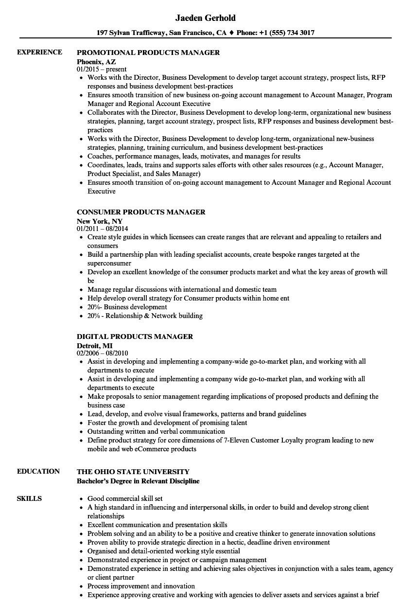 download products manager resume sample as image file partnership specialist sample resume - Partnership Specialist Sample Resume