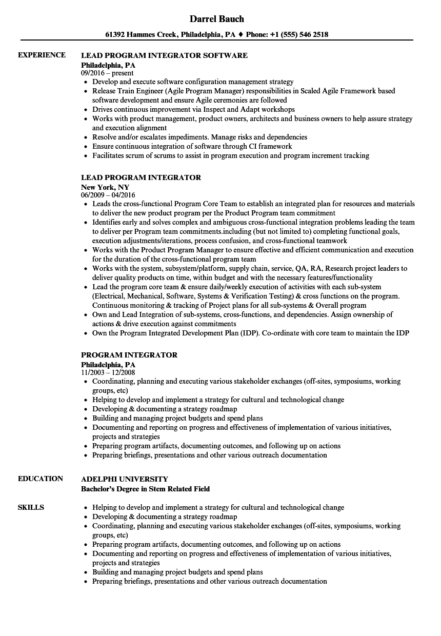 Lovely Sample Resume Work Permit Receiver Ideas - Example Resume ...