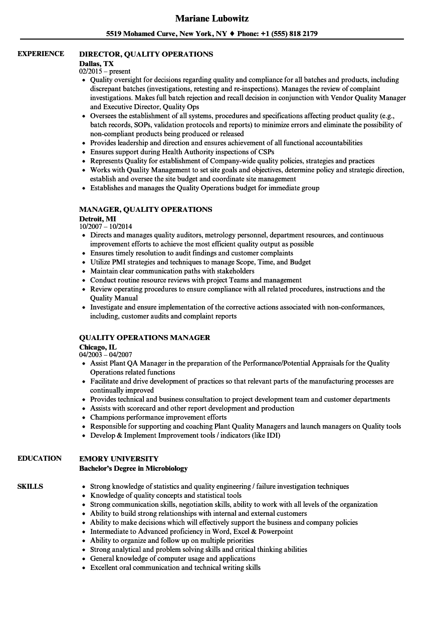 Resume help job description