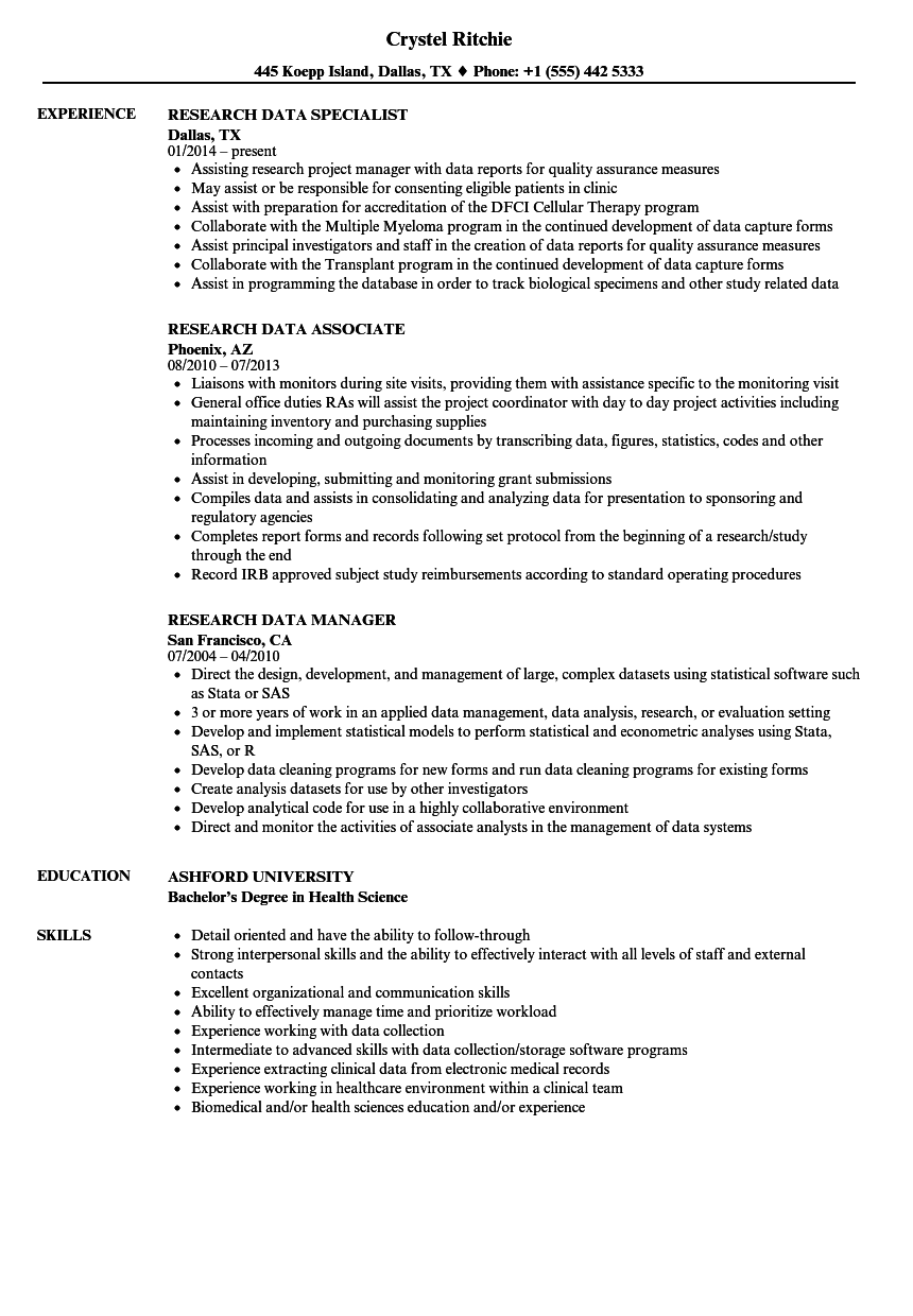 research data resume sample - Collection of marketing manager resume sample documents folder macro may yarn