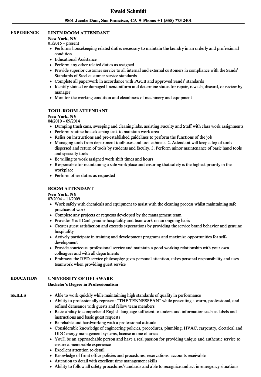 laundromat attendant sle resume resume with objective