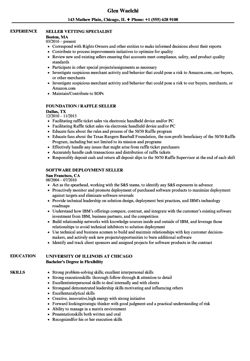 Resume working in team environment