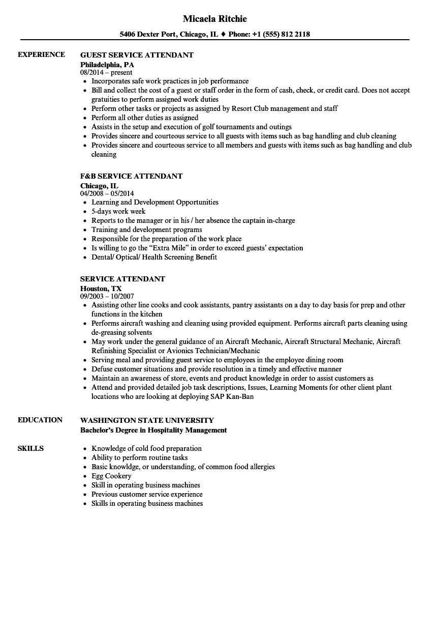 gas station attendant resume july 2020