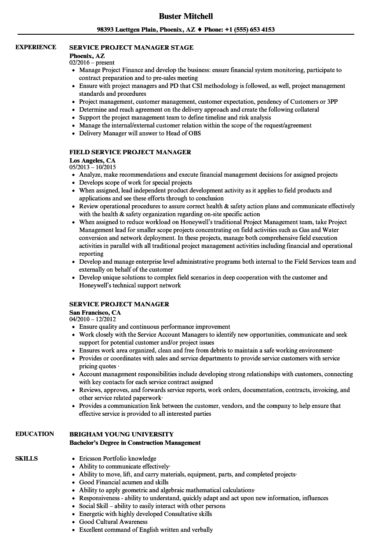 Academic coursework resume