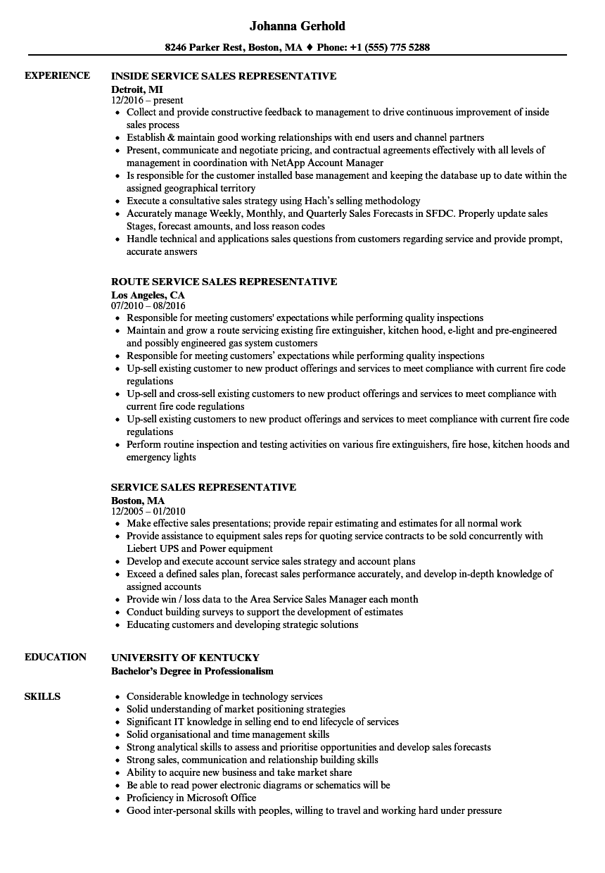 download service sales representative resume sample as image file - Sales Representative Resume Samples