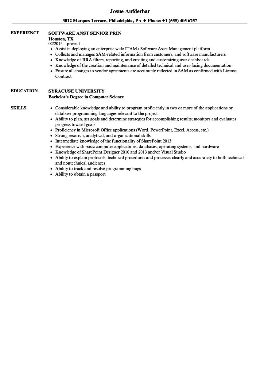 Great Unix Command Resume Job Contemporary - Example Resume ...